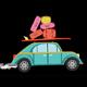 Cartoon Travel Car - VideoHive Item for Sale