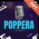 Poppera Music Powerpoint Presentation Template