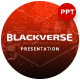 Blackverse Presentation Template