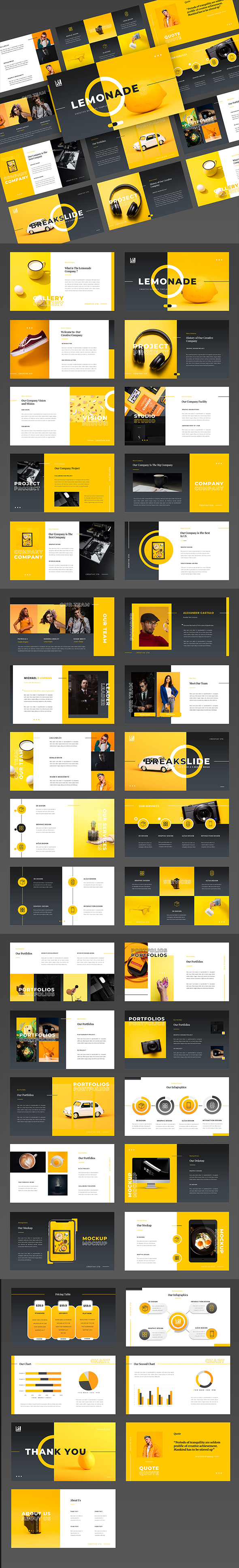 Flavo – Creative Business Google Slides Template