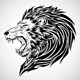 Fierce Lion Tattoo - GraphicRiver Item for Sale