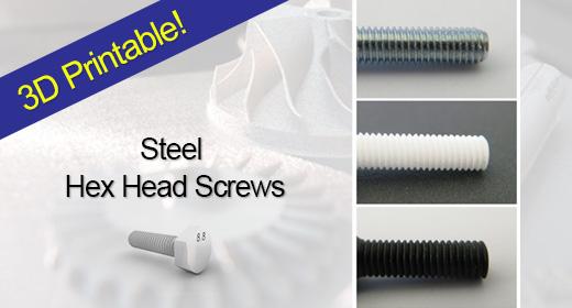 Steel Hex Head Screws