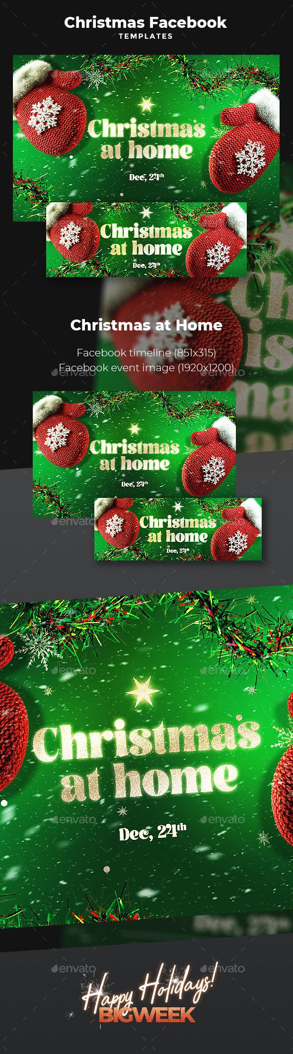 Christmas Facebook Templates