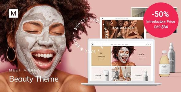 Marra – Beauty WordPress Theme