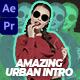 Creative Urban Intro - VideoHive Item for Sale