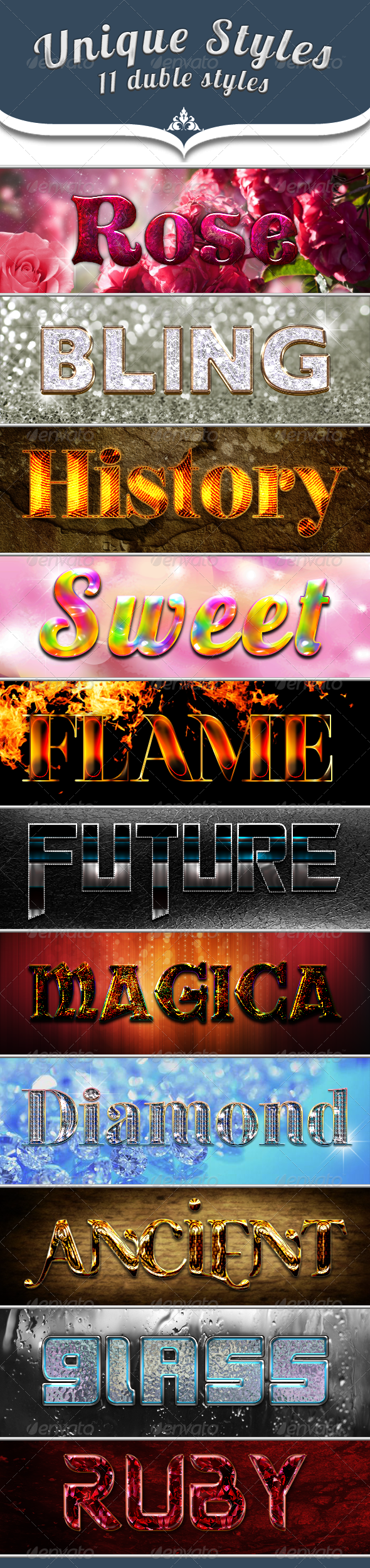 Styles - Text Effects Styles