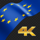 Long Flag European Union - VideoHive Item for Sale