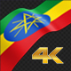 Long Flag Ethiopia - VideoHive Item for Sale