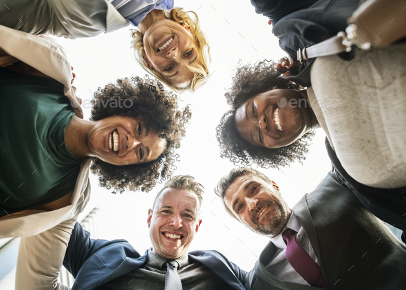 Successful and happy business team - Stock Photo - Images