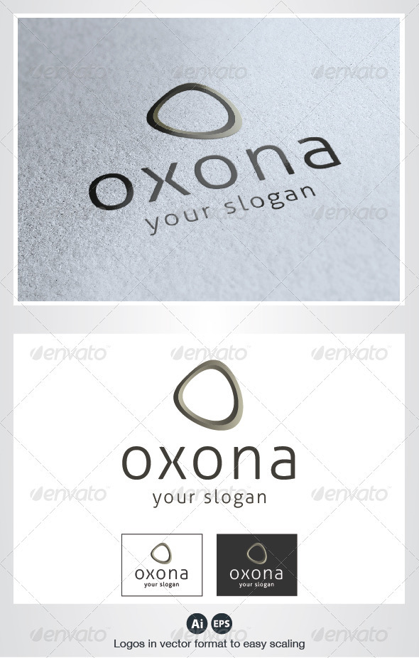 Oxona O Letter Logo - Letters Logo Templates
