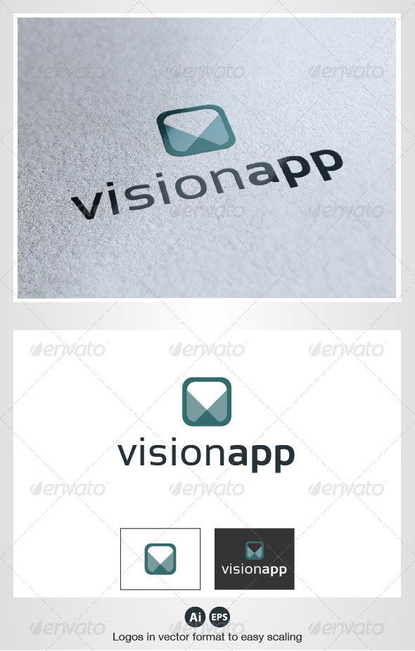 Vision App Logo  - Symbols Logo Templates