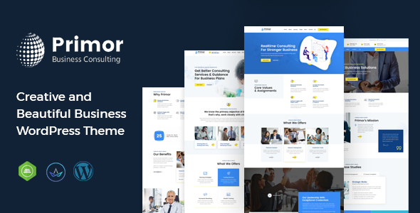 Primor - Business Consulting WordPress Theme