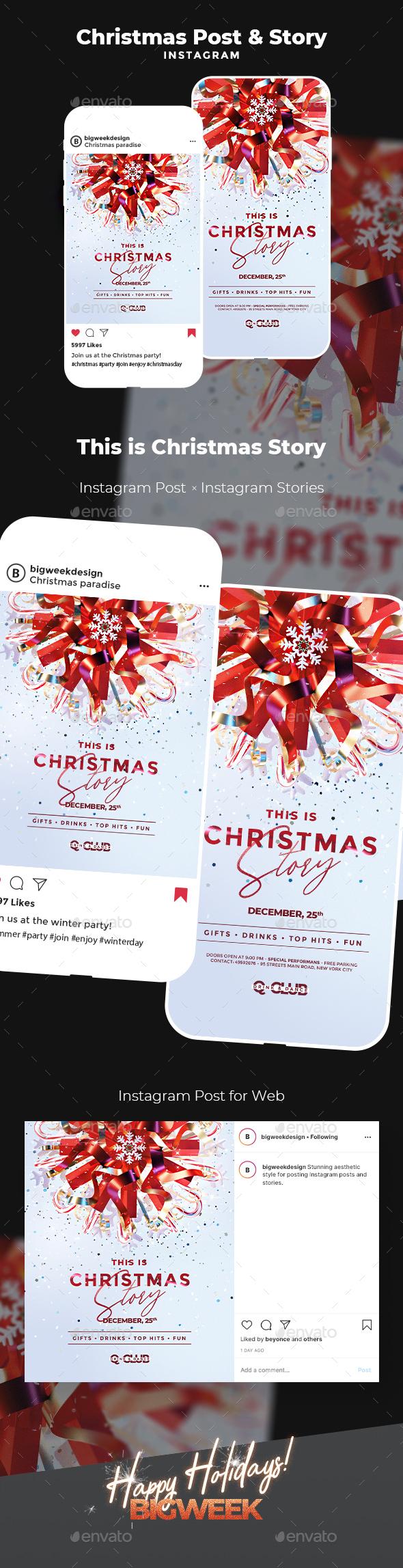Christmas Instagram Templates