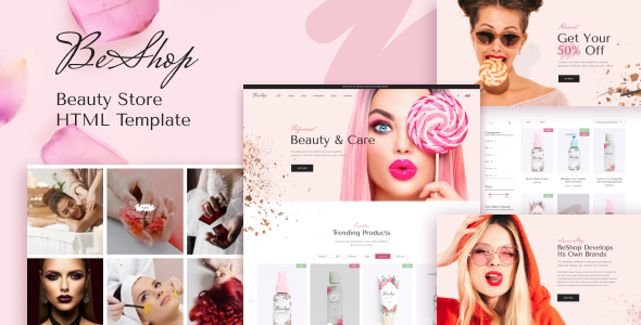 BeShop - Beauty eCommerce HTML Template