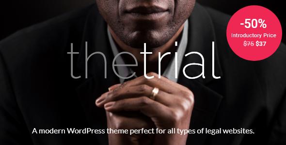 The Trial – Law WordPress Theme