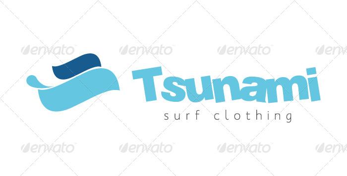Tsunami Logo Template