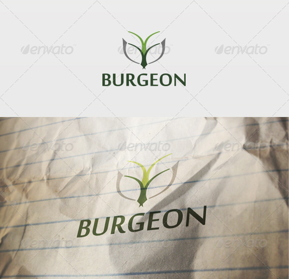 Burgeon Logo - Vector Abstract