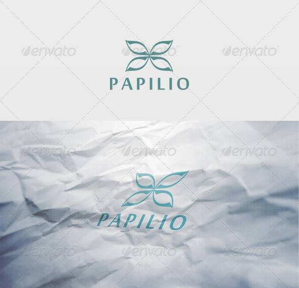 Papilio Logo - Vector Abstract