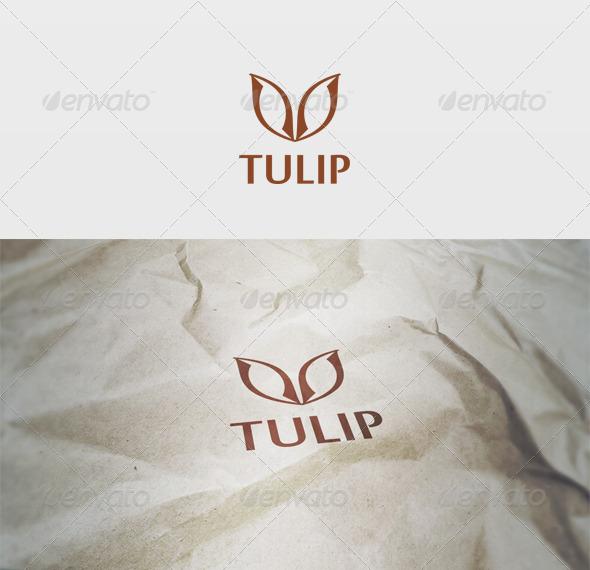 Tulip Logo - Vector Abstract
