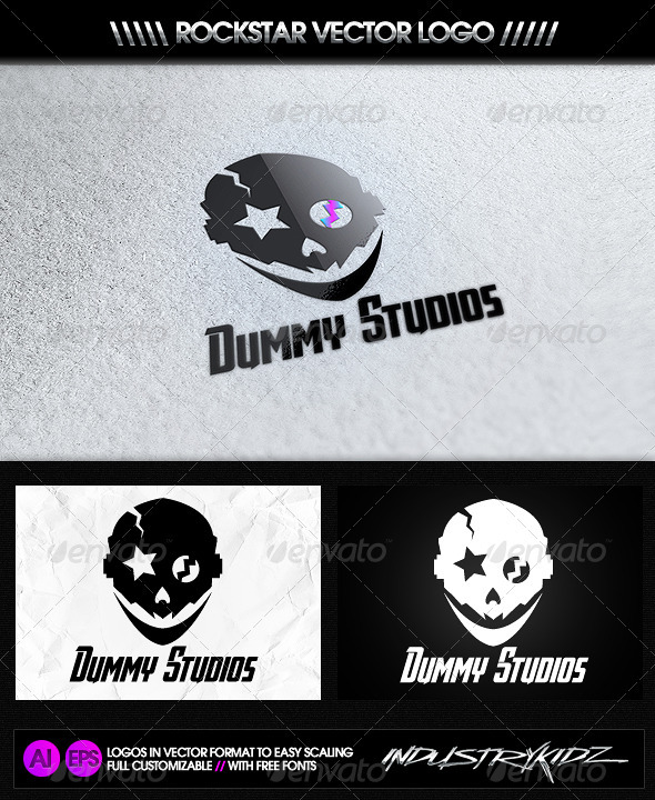 Dummy Studios Logo - Objects Logo Templates