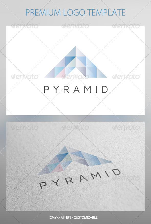 Pyramid Logo Template - Abstract Logo Templates