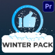 Social Media Snow Subscribers | Premiere Pro MOGRT - VideoHive Item for Sale