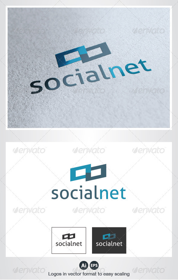 Social Net Logo - Symbols Logo Templates