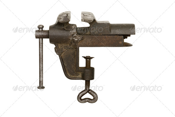 Bench Metal Vise - Stock Photo - Images