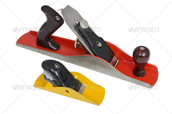 Metal Woodworking Planes - Stock Photo - Images