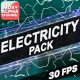 Electricity Elements | Motion Graphics - VideoHive Item for Sale