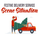Festive delivery service - Explainer Elements - VideoHive Item for Sale