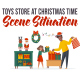 Toys store at Christmas time - Explainer Elements - VideoHive Item for Sale
