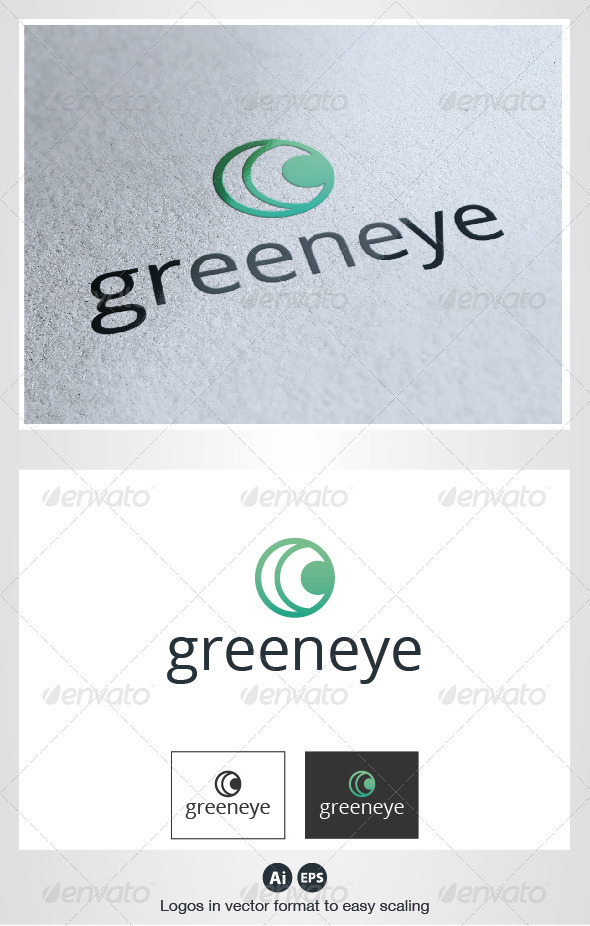 Green Eye Logo - Symbols Logo Templates