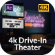 4k Drive-In Theater - VideoHive Item for Sale