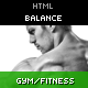 Balance - Gym Fitness HTML Theme Nulled
