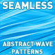 Seamless Abstract Wave Patterns - GraphicRiver Item for Sale