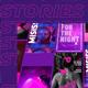 Purple Stories Instagram - VideoHive Item for Sale