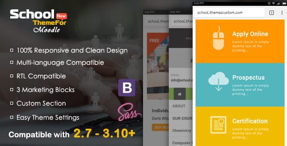 Best moodle themes