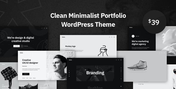 Sixten – Minimalist Portfolio WordPress Theme