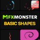 Basic Shapes | Motion Graphics - VideoHive Item for Sale