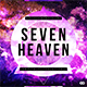 Seven Heaven - Music Album Cover Artwork Template