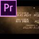 Cine Credit V.9 - VideoHive Item for Sale