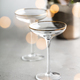 Champagne bottle in bucket with ice and glasses, vertical composition - PhotoDune Item for Sale
