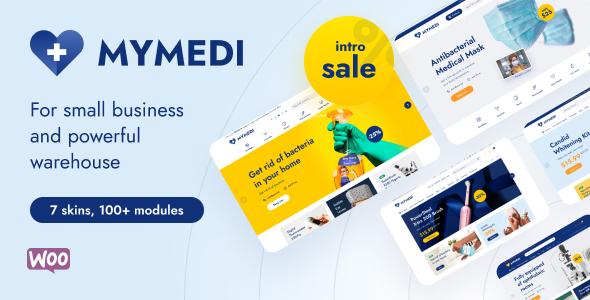 MyMedi – Responsive WooCommerce WordPress Theme