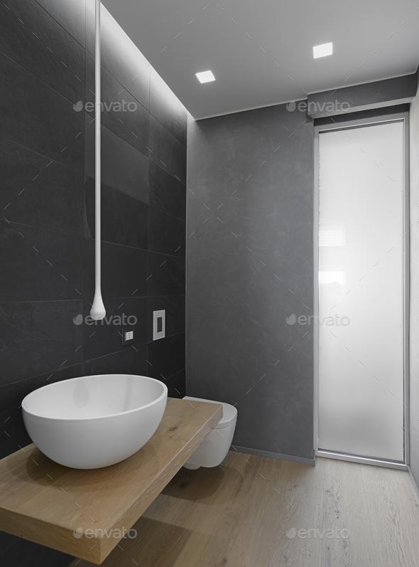 Modern Bathroom Interior 2217017 - Stock Photo - Images