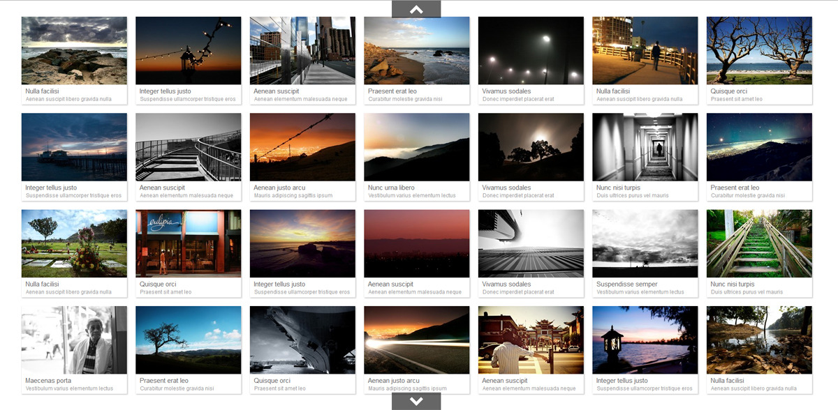 JQuery Thumbnail Gallery With LightBox by Tean CodeCanyon