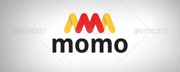 Momo Logo Design Template - Letters Logo Templates
