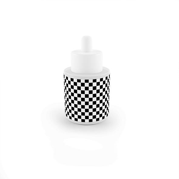 Serum Cosmetic container