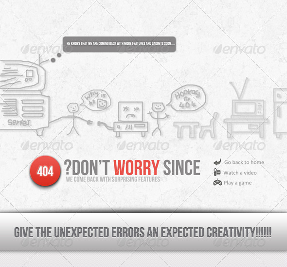 404.. Hooooooooraaayyyy........... Wooow - 404 Pages Web Elements