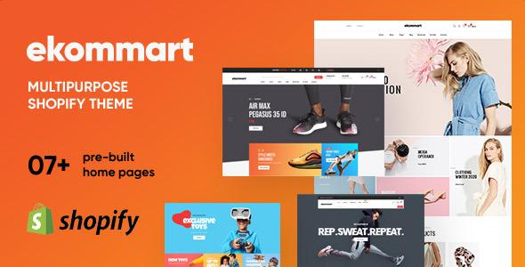 Ap Ekommart - Multipurpose Shopify Theme